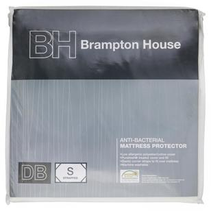 Brampton House Anti-bacterial Strapped Mattress Protector