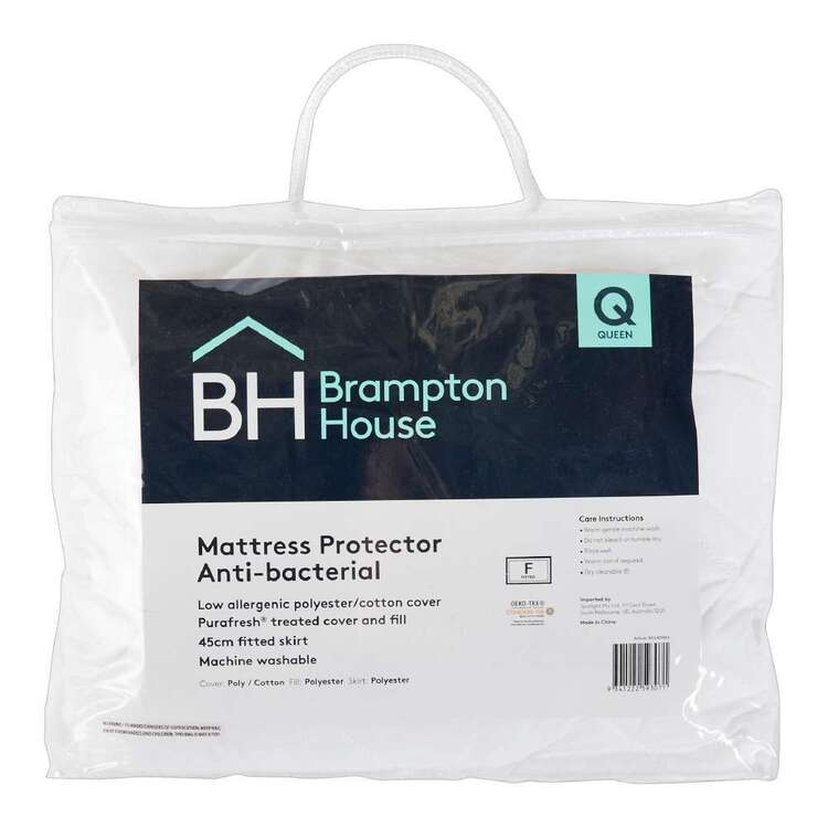 Brampton House Anti-bacterial Fitted Mattress Protector