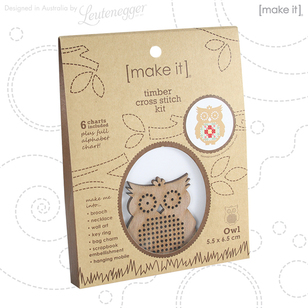 Make It Timber Owl Cross Stitch Kit
