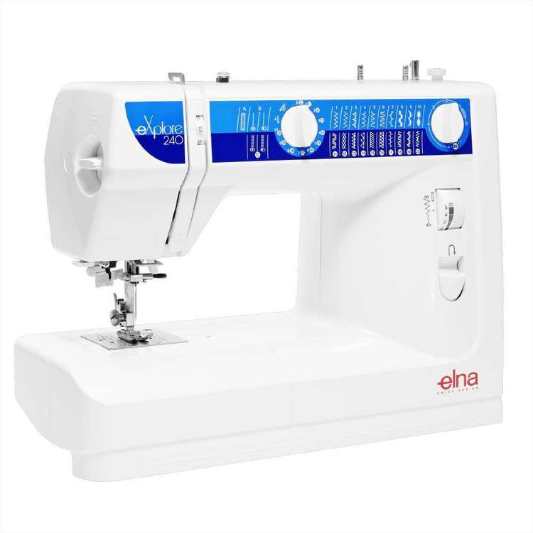 Elna eXplore 240 Sewing Machine White