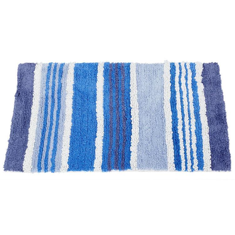 KOO Stripes Tufted Bath Mat