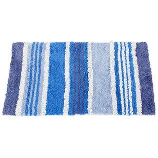 KOO Stripes Tufted Bath Mat