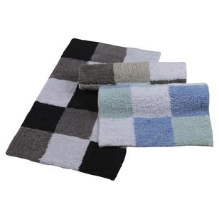 KOO Squares Tufted Bath Mat