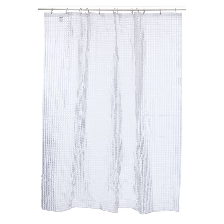 Bath By Ladelle Hologram Square Shower Curtain