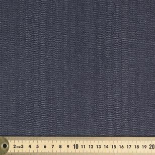 Stern's Textiles Plain 150 cm Cotton Denim Fabric