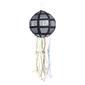 Amscan Disco Ball Pinata Silver & Black