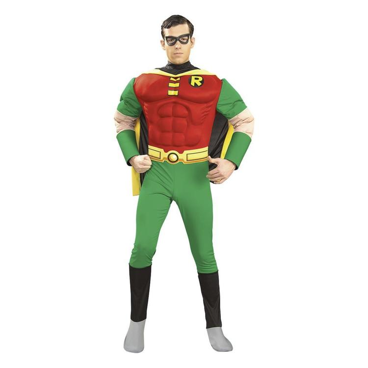 DC Comics Robin Muscle Chest Costume