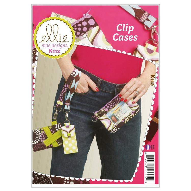 Kwik Sew K0112 Clip Cases  One Size
