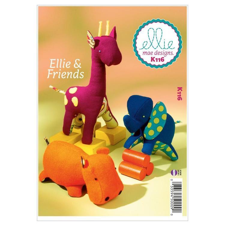 Kwik Sew Pattern K0116 Ellie & Friends