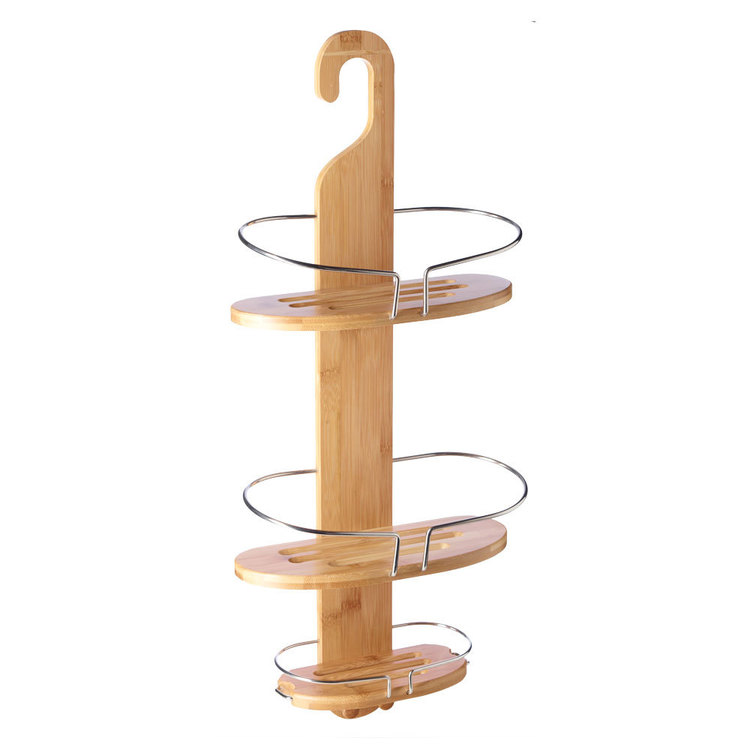 KOO Bamboo Shower Caddy Bamboo