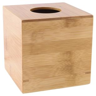 KOO Bamboo Tissue Box