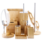KOO Bamboo Toilet Roll Holder Bamboo