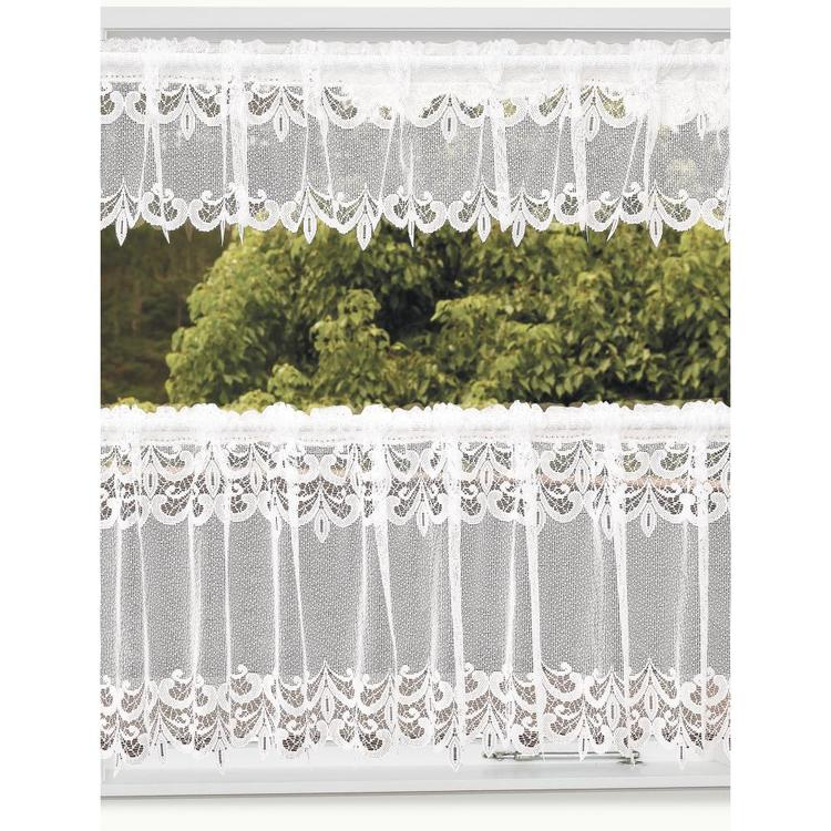 Caprice Batten Lace Continuous Cafe Sheer