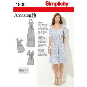Simplicity Pattern 1800 Women's Dress