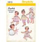 Simplicity 1813 Girl's Coordinates  XX Small - Large