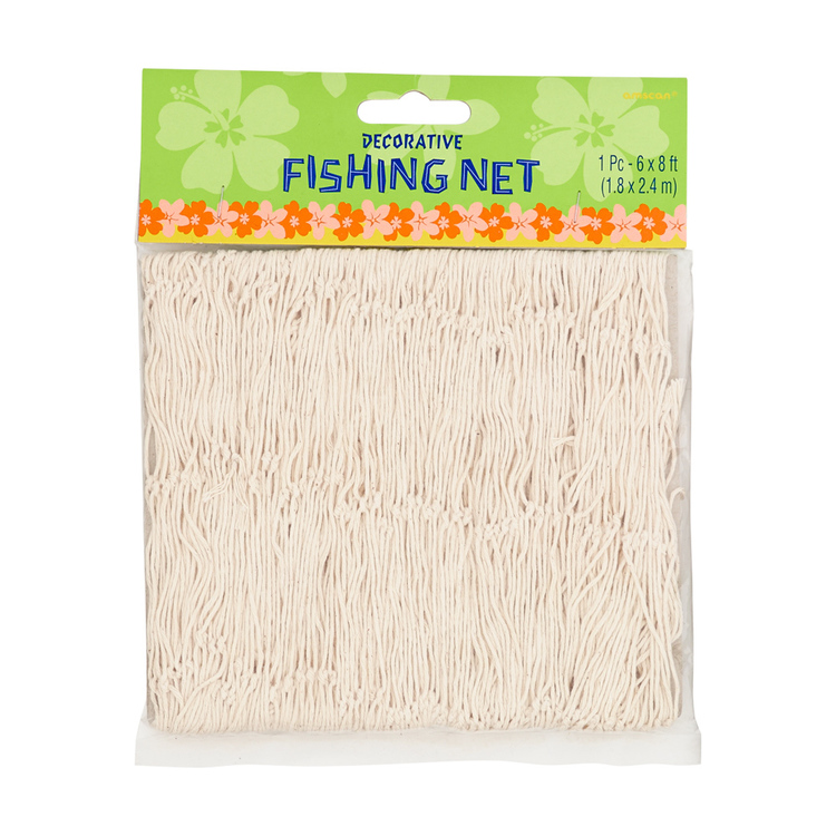 Amscan Summer Luau Fish Net Natural