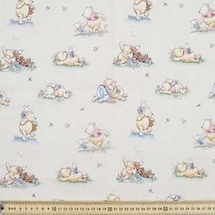 Disney Classic Pooh Quiet Moments Fabric