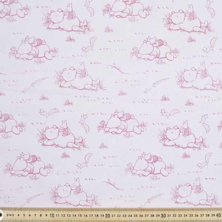 Disney Classic Pooh Toile Fabric