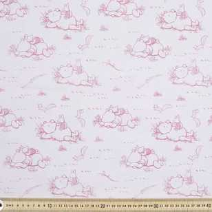 Disney Classic Pooh Toile Fabric