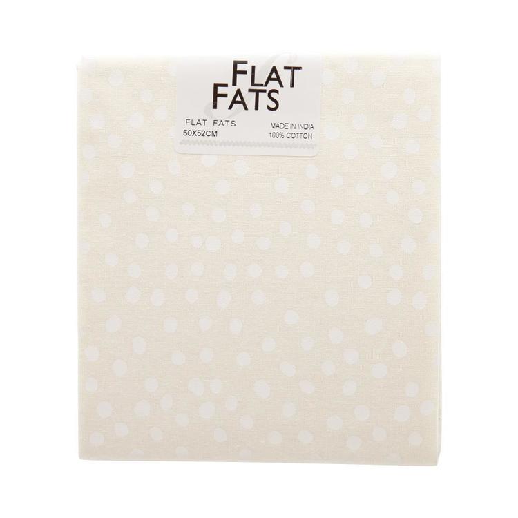 Naturals 2 Spot Flat Fats