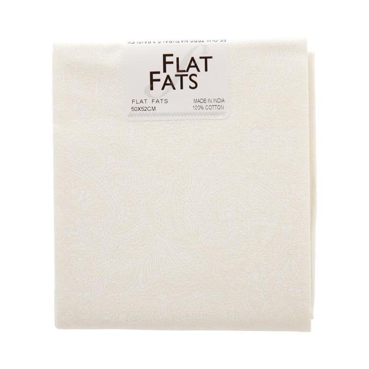 Naturals 2 Paisley Flat Fats