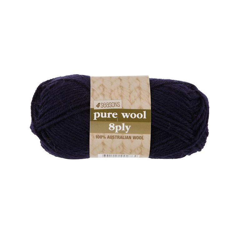 4 Seasons Pure Wool 8 Ply Yarn 50 g