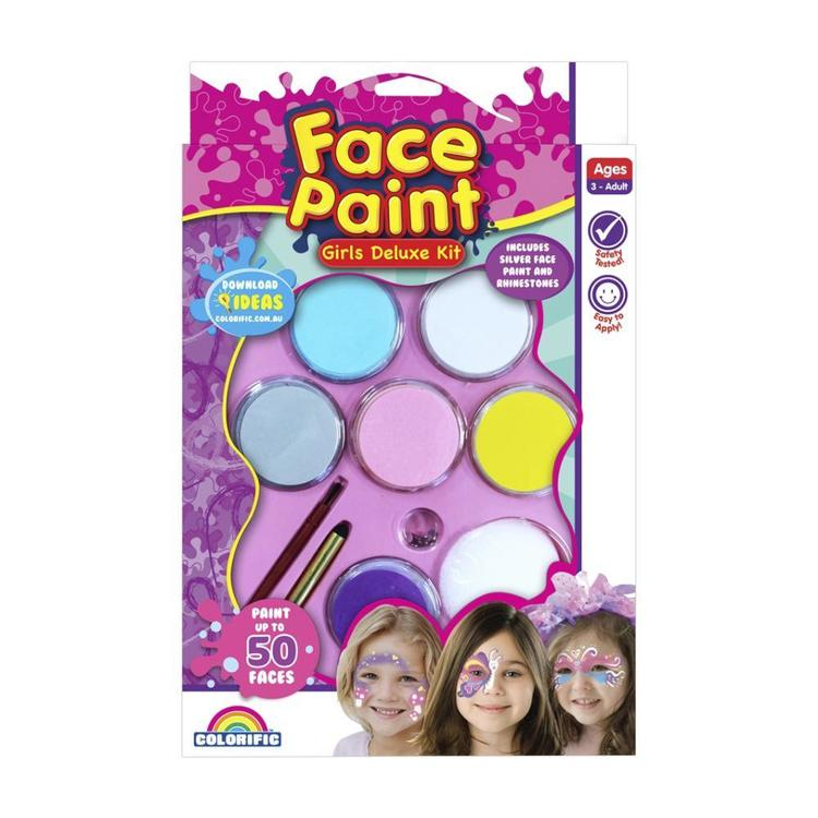 Colorific Fairylites Deluxe Face Paint Kit