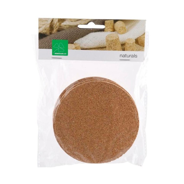 Shamrock Craft Cork Coasters