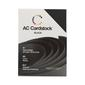 American Crafts Cardstock 60 Pack Black 12 x 12 in