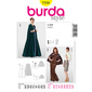 Burda 7154 Women's Evening And Bridal Wear  10 - 24
