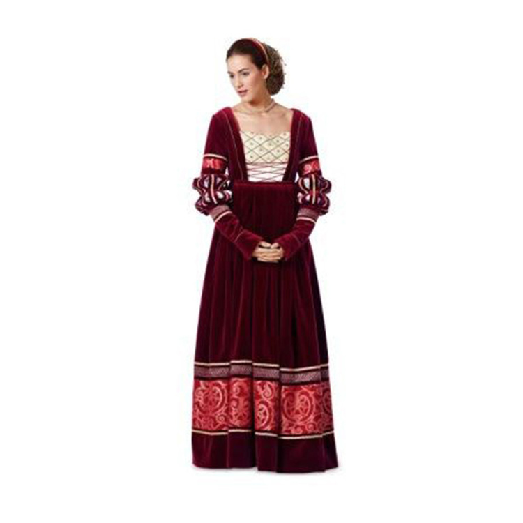 Burda 7171 Women's Renaissance Costume  10 - 24