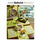 Butterick B5800 Napkins Placemats Table Runner Table Cloth & Flower Bowl In 3 Sizes One Size