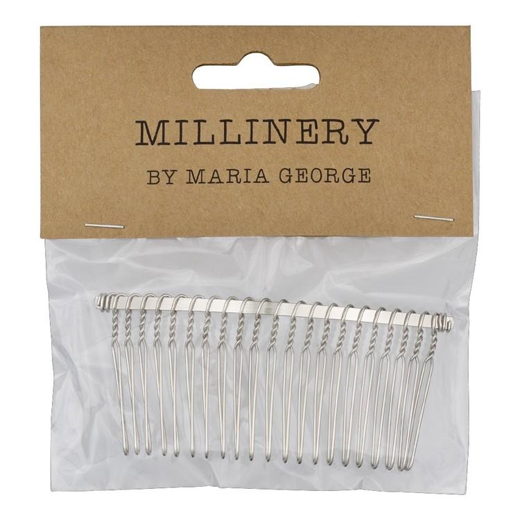 Maria George 21 Teeth Metal Veiling Comb