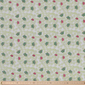 Honeyfields Embroidered Cotton Green 110 cm