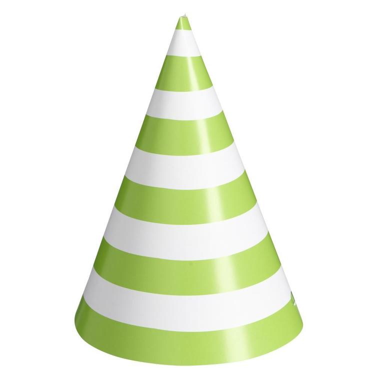 Stripe Party Hats