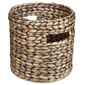 Living Space Zara Round Basket Chocolate Small