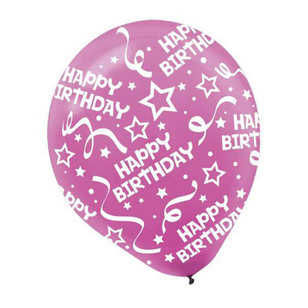 Amscan Birthday Latex Balloons