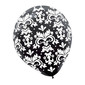 Amscan Pearl Brocade Latex Balloons Black & White