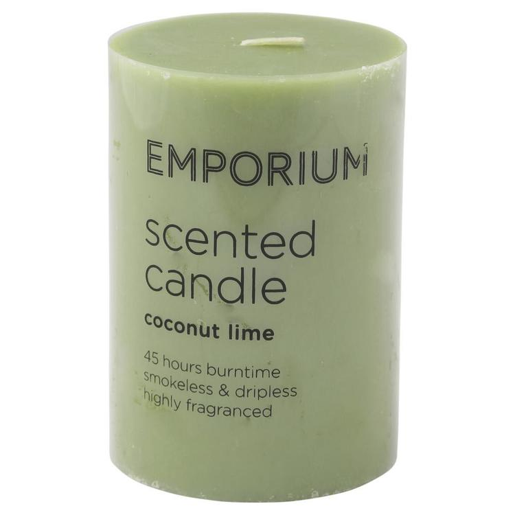 Emporium Scented Pillar Candle 10cm