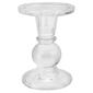 Emporium Chandelle Candle Holder Clear
