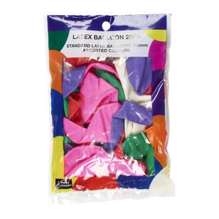 Party Creator Latex Balloons 20 Pack