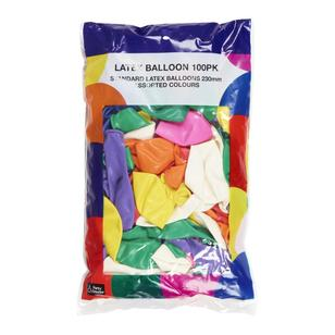 Party Creator Latex Balloons 100 Pack