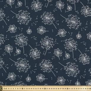Dandelion Printed Cotton Voile