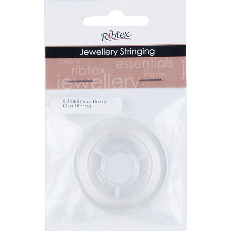 Ribtex Jewellery Stringing Stretch Thread