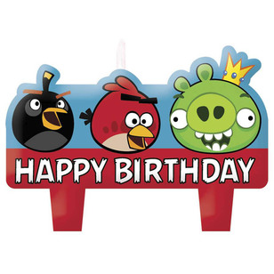 Angry Birds Moulded Mini Candle