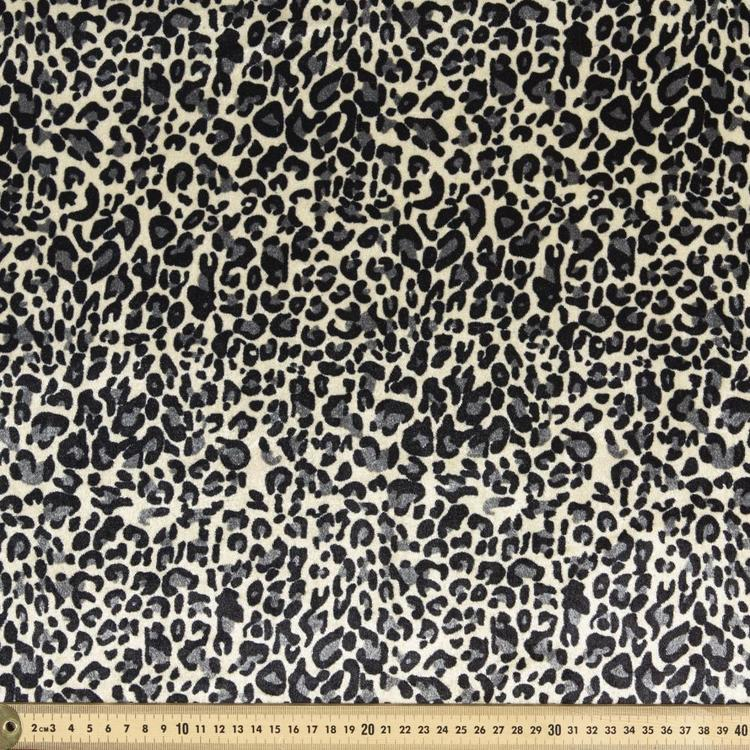Animal Leopard Printed Panne