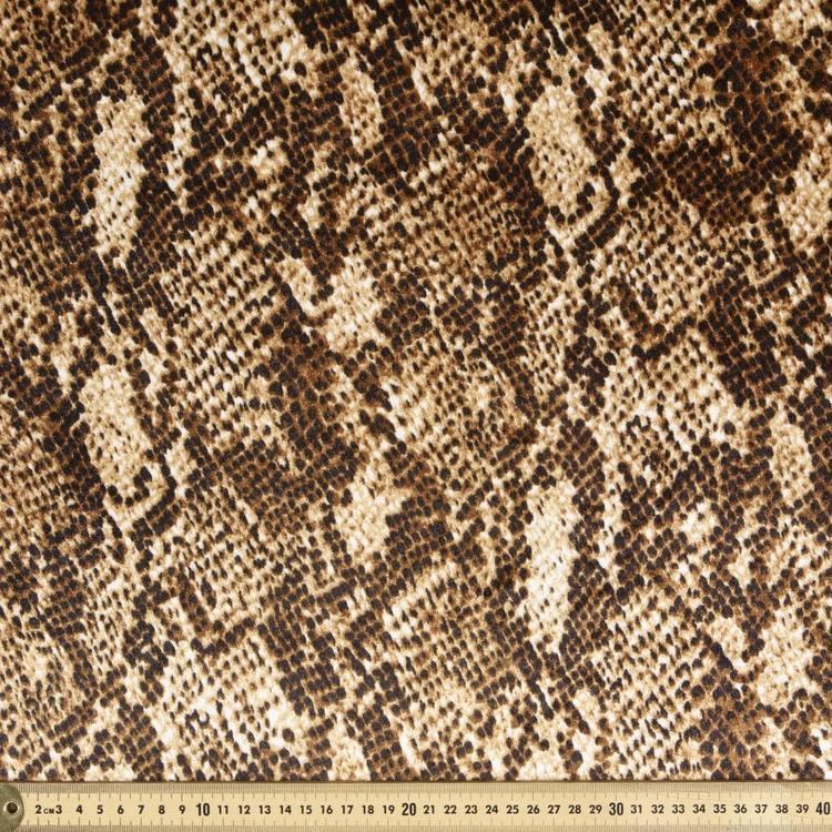 Animal Snake Printed Panne
