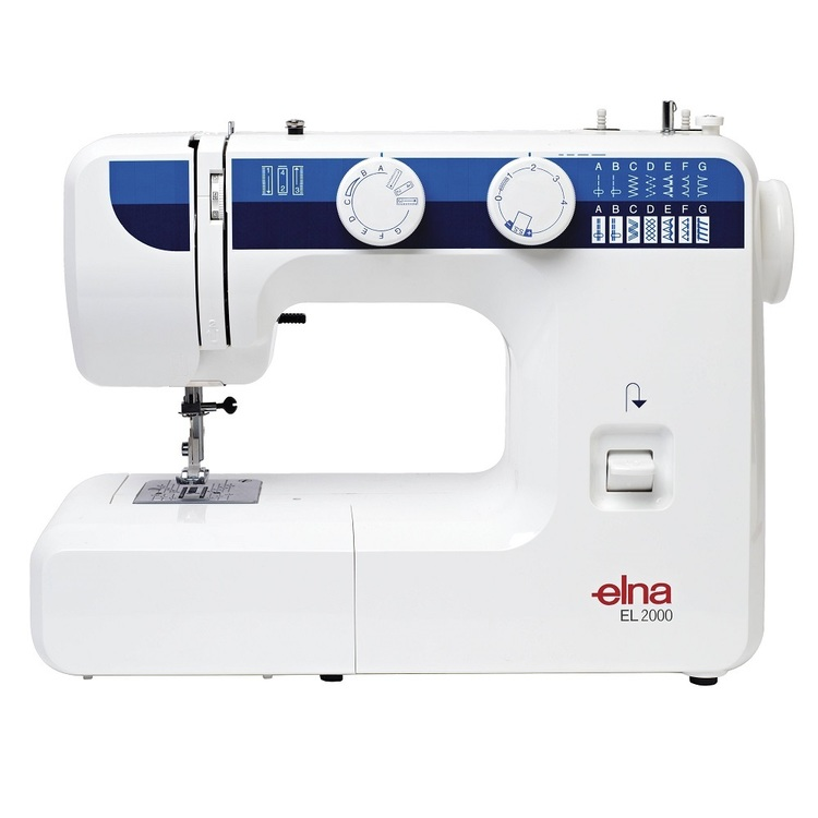 Elna EL2000 Sewing Machine White