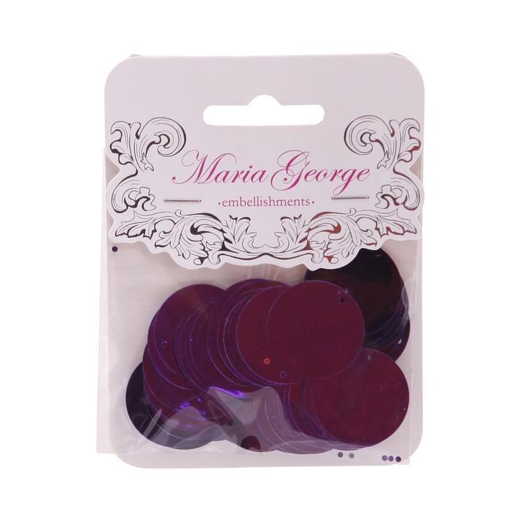Maria George Large Round Sequins