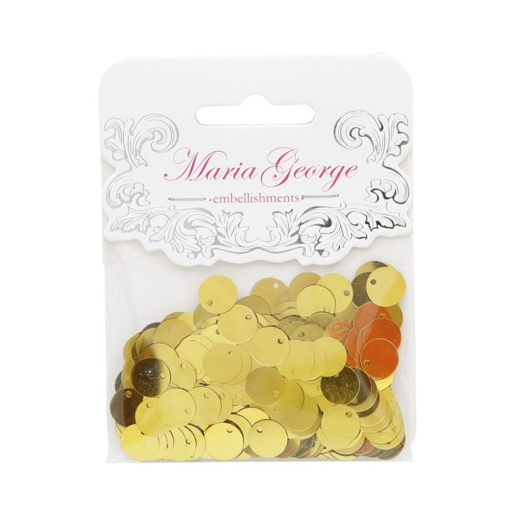 Maria George Small Round Sequins